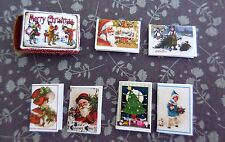 DOLLHOUSE MINIATURE ~ CHRISTMAS GREETING CARDS KIT