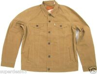 Levi's Trucker Jacket Wax Treated Lightweight Jacket 723340173 Covert Khaki Levi