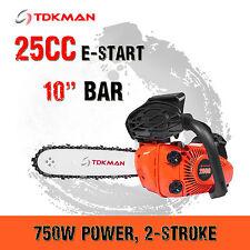 """TDKMAN 25CC Petrol Chainsaw Chain Saw 10"""" Inch Bar Tree Log Pruning Pruner"""