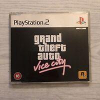 GTA VICE CITY PS2 Playstation 2 Game Promo Press Rockstar Redemption PAL RARE