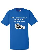 "Racing Sidecar "" My other half "" -  T shirts -   Adult Medium"