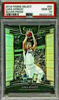 PSA 10 RC Luka Doncic 2018-19 Select Concourse SILVER PRIZM #25 Rookie Refractor