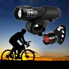 Led Bicycle Bright Bike Lamp Safe Riding Flashlight Lamp Set Of Mountaineers