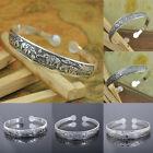 Schickes Armband, Armreifen,Armspange,Tibet Silber mit Muster Neu Schmuck