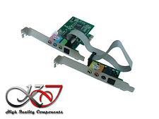 Controller-Karte PCIe Sound 7.1 8 Kanäle - CMI 8738 - Eingang / Ausgang SPDIF