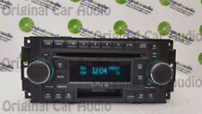 DODGE CHRYSLER Radio Stereo 6 MP3 CD Changer Cassette Tape Player Deck RAK OEM