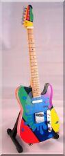BRAD PAISLEY  Miniature Guitar Camo Splash