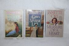 Lot of Janette Oke Christian Romance Novels Books The Tender Years Measure of a