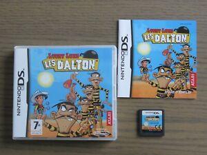 JEU NINTENDO DS 3DS LUCKY LUKE LES DALTON COMPLET EN FRANCAIS