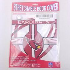 "Arizona Cardinals Stretchable School Book Cover For Books Up To 8""x10"""