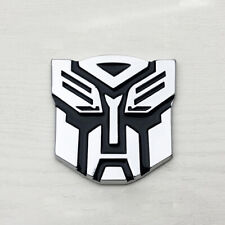 3D Protector Autobot Transformers Emblem Badge Graphic Car Sticker Metal Plating