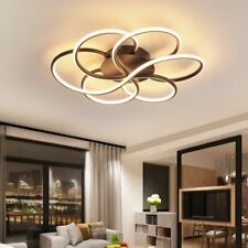 Home Luminous Chandeliers Led Bulbs Lighting Fixtures Shade-less Remote Control