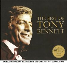 Tony Bennett - The Very Best Greatest Hits Collection RARE 2008 2CD & Bonus DVD