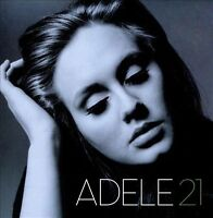Adele 21 CD [Ft: Rolling In The Deep, Someone Like You, Set Fire To The Rain]