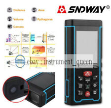 120M Medidor de Distancia Láser Pantalla a Color rechargeabe + W-TFT LCD Cámara SW-S120