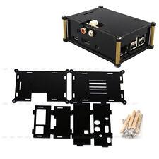 Black Acrylic Case + I2S Interface Hifi Dac+ Sound Card For Raspberry Pi 2 B B+