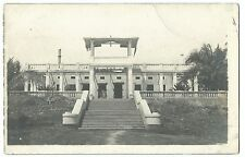 WW1, Palace of The Governor General after Bombardment, German E. Africa RP PPC