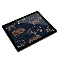 A3 Glass Frame - Pig Pattern Farm Animal Butcher Art Gift #12690