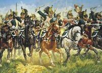 ITALERI 1/72 NAPOLEONIC WAR 1805-15: FRENCH DRAGOONS (17 MTD) | 6015