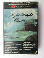 Columbia Musical Treasury Orchestra Light Bright Classics (Cassette) Snap Case