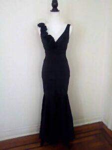 Vintage Cache Dress Gown Designer Size 4