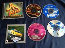 PC computer games -MS Flight Simulator 98,Need for Speed II, Atari, Triple Play