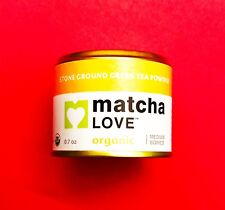 NEW! Matcha Love Organic Matcha Green Tea Powder Product of Japan 0.7oz Med Body