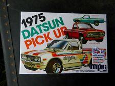 "Mpc 1975 Datsun 620 Pickup Truck ""Lil Hustler"" 1:25Th Scale Plastic Model Kit"