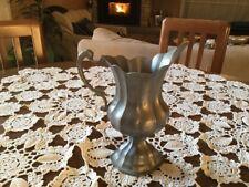 Anfora Coppa brocca in peltro Amphora Pewter jug cup