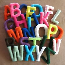 Alphabet Fabric Wall -  Play Letters  Nursery Letters, Felt Letter, Name Banner