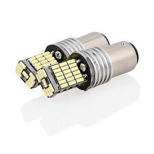 2x Lampada Canbus Led BA15s 1157 12 SMD P21W Luci Backup Reverse Auto 6500K