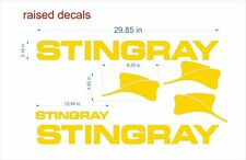 "Stingray boat Emblems 29"" gold + FREE FAST delivery DHL express - raised decals"