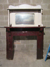 Wooden Antique Fireplaces Amp Mantels For Sale Ebay