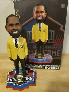 CHARLES WOODSON 2021 NFL Pro Football Hall of Fame Bobblehead Raiders Packers