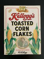 Vintage (1991) 85th Anniversary Kellogg's Toasted Corn Flakes Cereal Box