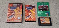 Thunder Force III 3 iii Sega Genesis Game CIB Complete w/ Case Box & Manual Lot!