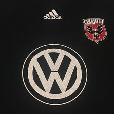 Volkswagen Adidas D.C. United Medium Black T-shirt Soccer Club MLS Cup DC