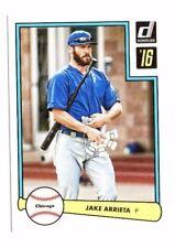 Jake Arrieta 2016 Panini Donruss, 1982 Design, Baseball Card !!