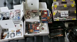 BUNDLE 2x Foxconn Destroyer Motherboards 780a SLI -3x GTX 280 -AMD Phenom -Tuniq