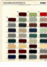 1949 1950 1951 1952 FORD MAINLINE VICTORIA 1948 1949 HUDSON PAINT CHIPS 4952 MS