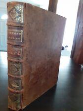 1722 EX-LIBRIS HISTOIRE ECCLESIASTIQUE T.12 Mr FLEURY PARIS EMERY-SAUGRIN-MARTIN