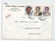 CA143 1978 Angola Luanda Airmail Cover MISSIONARY VEHICLES PTS