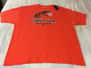 New Men's Russell Athletic FLORIDA A&M RATTLERS T-shirt