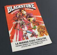 Vintage BLACKSTONE Magic Show at La Mirada Civic Theatre