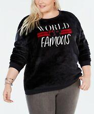 Disney Love Tribe Mickey Minnie World Famous Sweatshirt Super Soft Top Black 3x