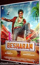BESHARAM (2013) RANBIR KAPOOR, PALLAVI SHARDA, RISHI KAPOOR BOLLYWOOD POSTER #2
