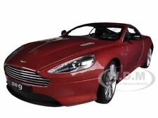 ASTON MARTIN DB9 COUPE BURGUNDY 1/18 DIECAST CAR MODEL BY WELLY 18045