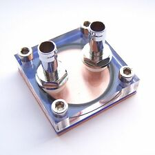 1 PCS CPU Water Cooling Block Copper Waterblock Liquid Cooler for Intel AMD W09