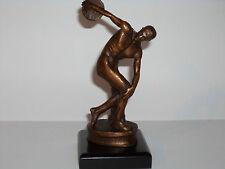 "Skulptur"" DISKUSWERFER "" aus Bronze! NEU & OVP # 06"