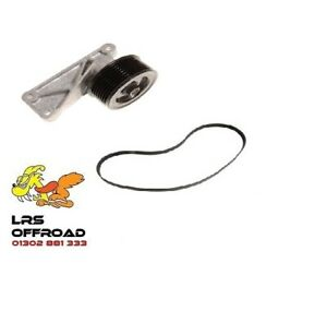 LAND ROVER DISCOVERY 2 TD5 NEW ACE BYPASS REMOVAL KIT (NO A/C) TENSIONER & BELT